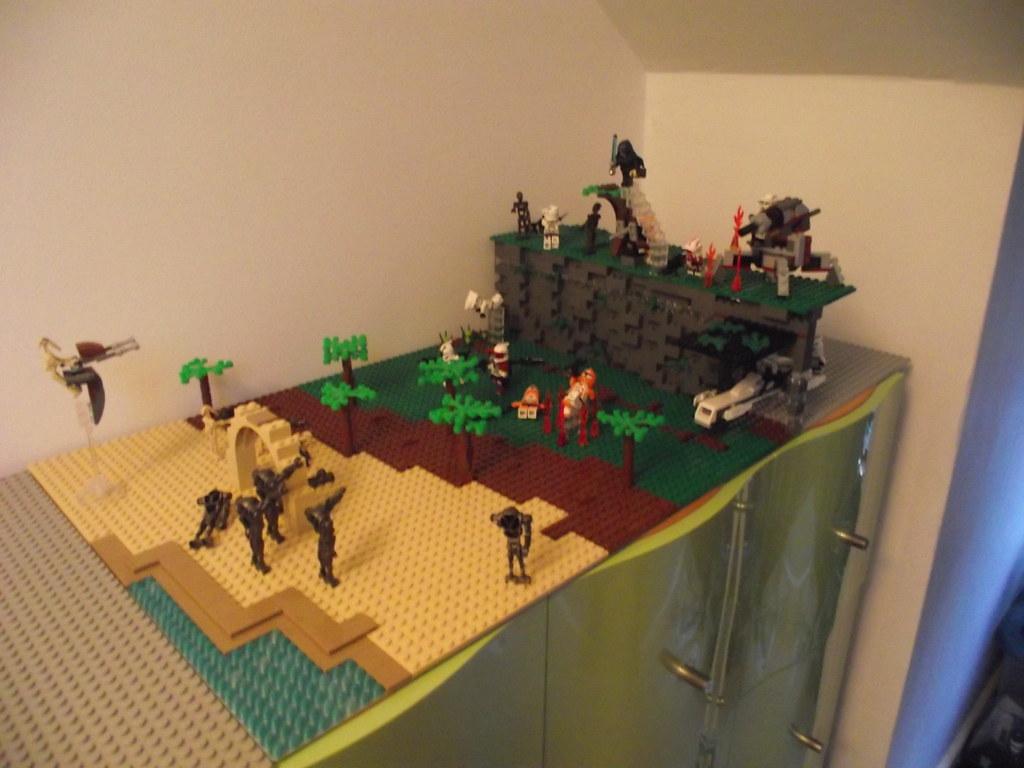 Lego Star Wars Alderaan Lego Star Wars Clone