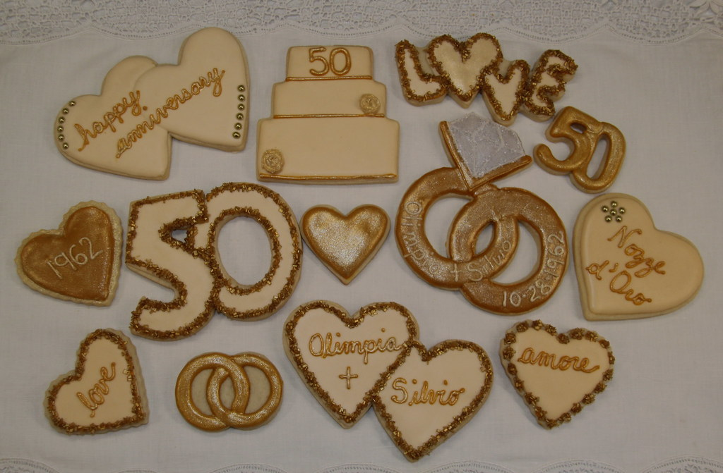 50th Anniversary Cookies Nadia Bakes Flickr