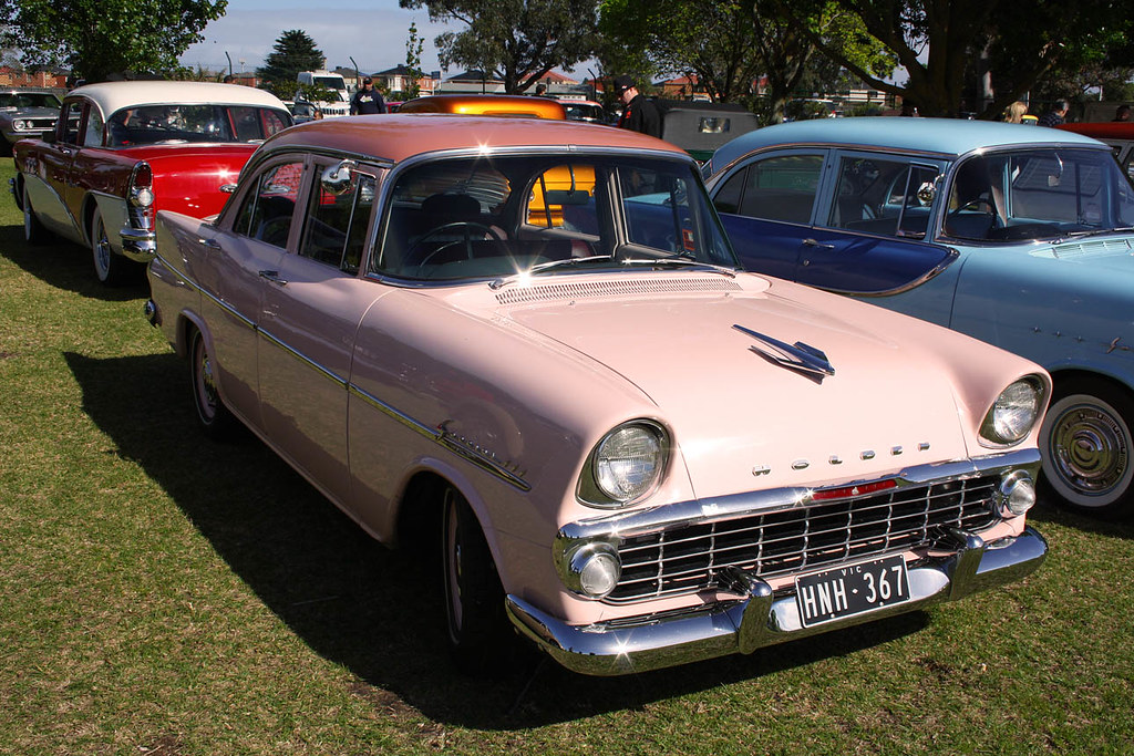 1962 Ek Holden Sedan Cool Two Tone Pink Classic Old