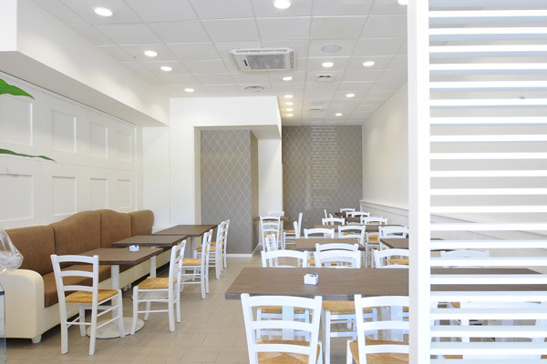 ... White Cafe Design | By Marchi Interior Design