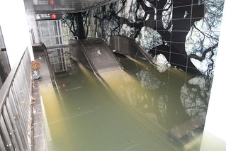 Escalator under Water @ South Ferry | by MTAPhotos