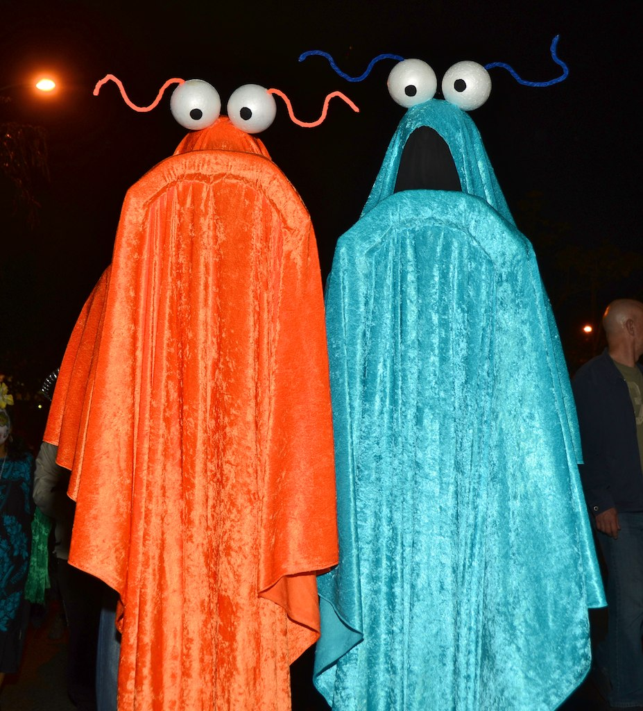 halloween west hollywood 2012 yip yip martians from sesame. Black Bedroom Furniture Sets. Home Design Ideas