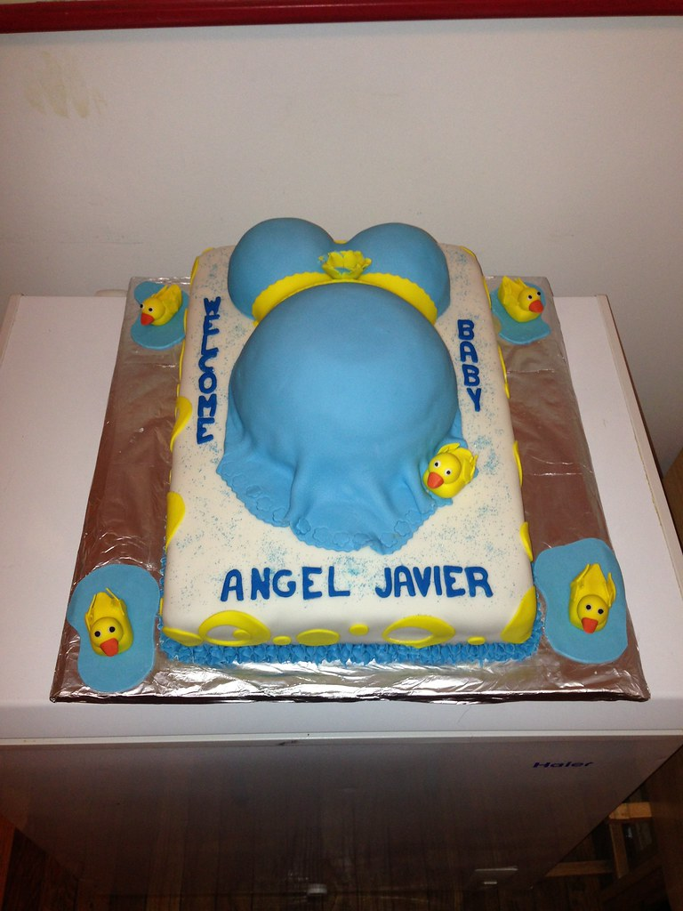 ... Belly And Rubber Ducky Baby Shower Cake | By Jodiu0027s Sweet Delights
