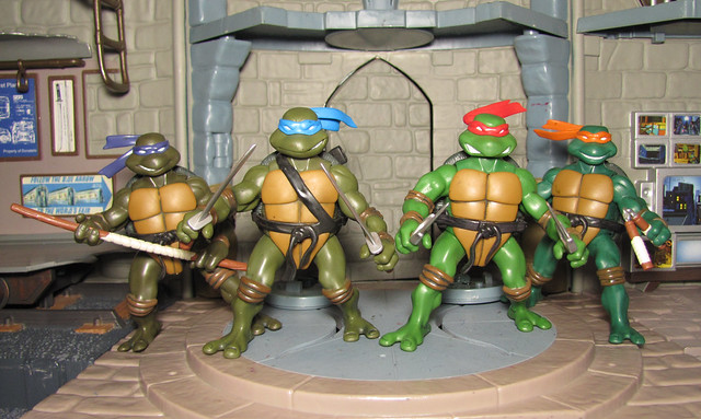 Teenage Mutant Ninja Turtles 2003 Toys : Flickr photo sharing