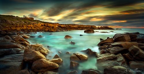 Conto Rocks. South West. WA. | by Adam Williams Fine Art Photography