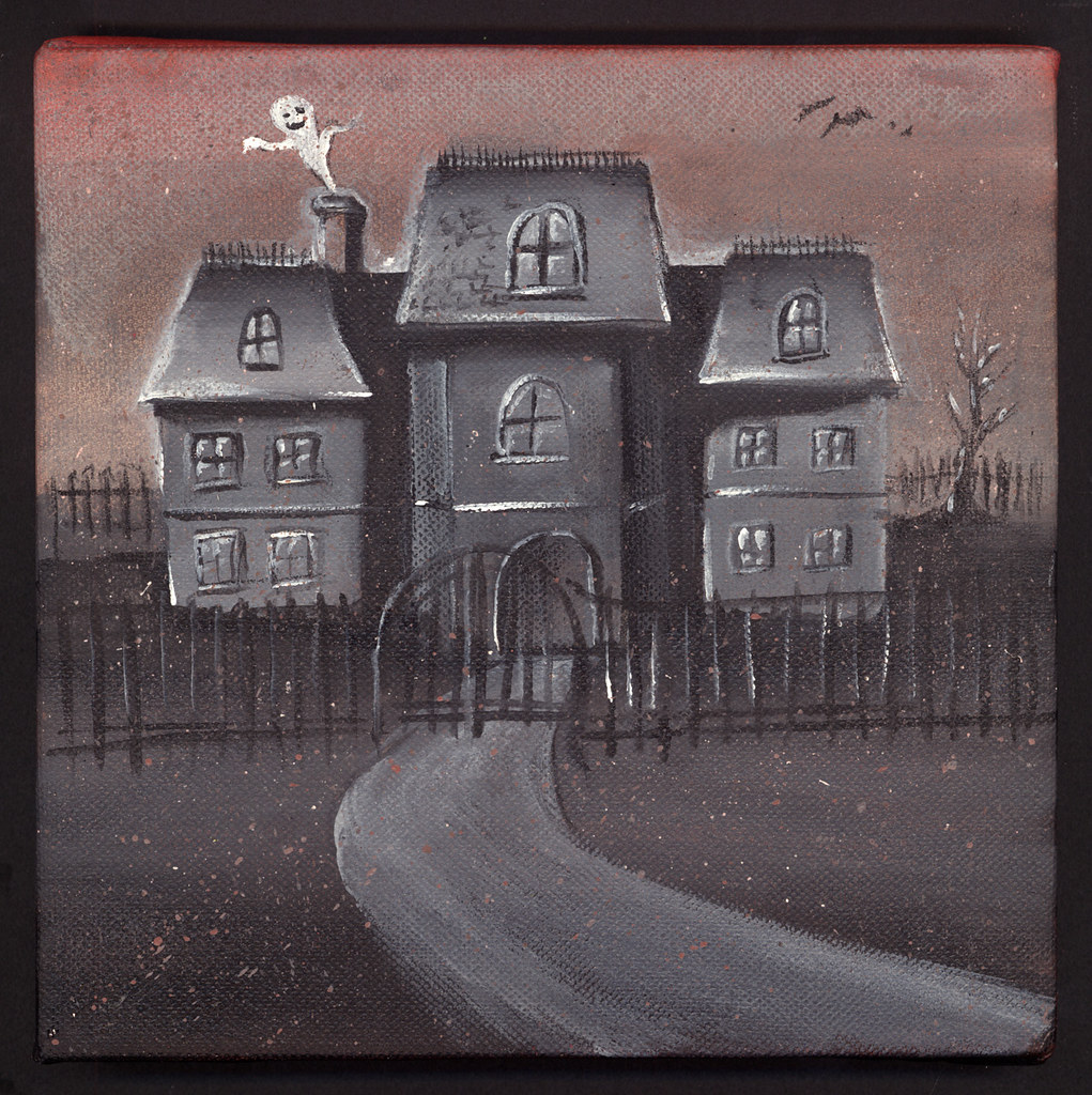 Image Result For A Haunted House