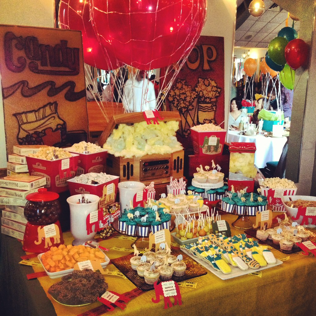 Carnival themed baby shower eventus carnival themed baby flickr - Carnival themed baby shower ideas ...
