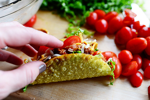 Salad Tacos | by Ree Drummond / The Pioneer Woman