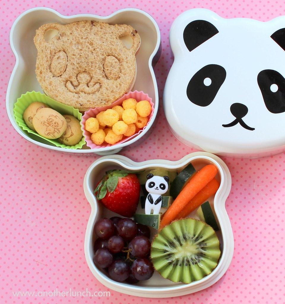 panda bento box lunch flickr. Black Bedroom Furniture Sets. Home Design Ideas
