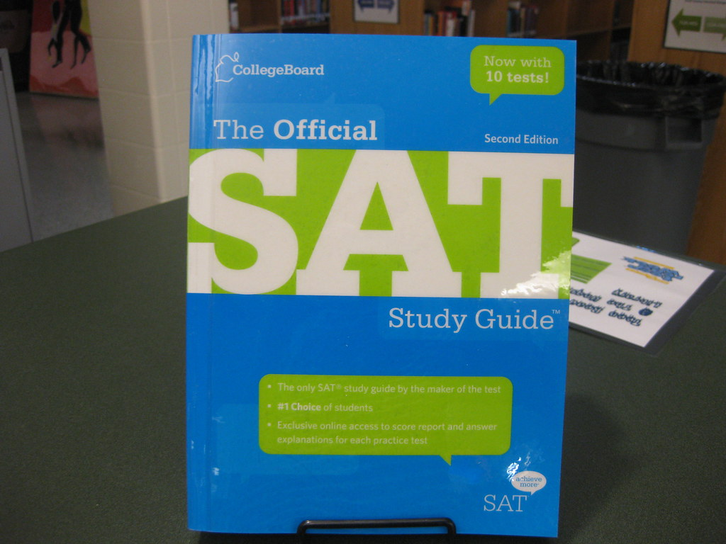 ... theunquietlibrary New Arrivals October 2012: The Official SAT Study  Guide, 2nd Edition | by theunquietlibrary