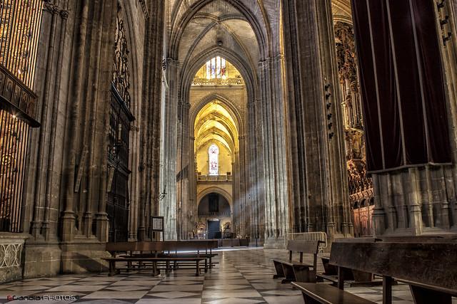 Sevilla 20 interior catedral flickr photo sharing - Catedral de sevilla interior ...