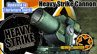 PlayStation Home: Heavy Water Heavy Strike Cannon | by PlayStation.Blog
