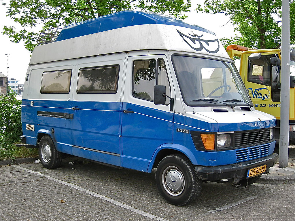 1981 mercedes benz 307d campervan the new tn t1 series for Mercedes benz camper van