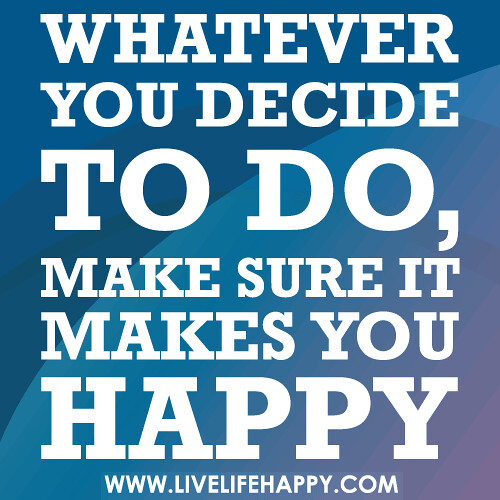 """aspects of life that make you happy Happiness is used in both life evaluation, as in """"how happy are you with your  autonomy, community and engagement are key aspects of happiness and wellbeing ."""
