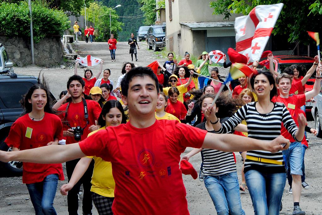 Georgian-Romanian Youth Festival in Borjomi, Georgia, in 2 ...