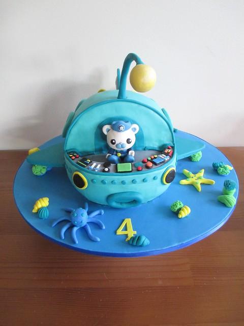 Octonauts Cakes Images