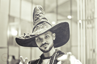Barista Christopher Abel Alameda ~ Halloween at Handsome Coffee Roasters | by r.e. ~