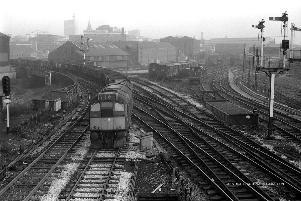 Ordsall Lane No 2 Class 24 West Goods 1960s View Taken