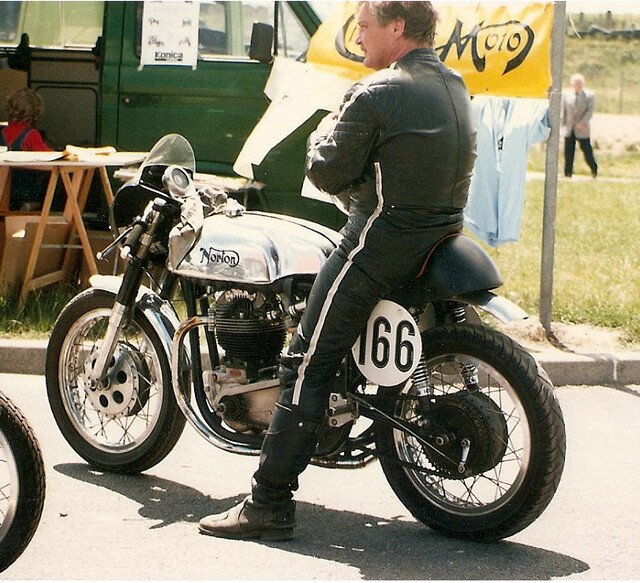 norton atlas racer 750cc de domino77 circuit de lezennes motos anglaises flickr. Black Bedroom Furniture Sets. Home Design Ideas