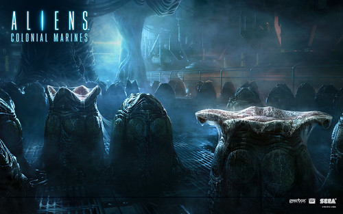 Aliens: Colonial Marines Wallpaper - Eggnest - 1920x1200 | by SEGA of America