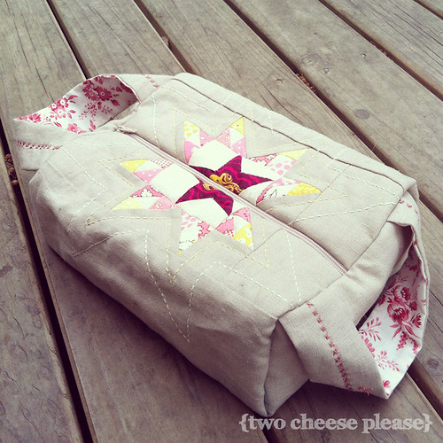dear jane heather ross pouch | by Two Cheese Please