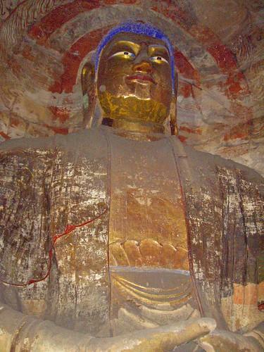 Buda en las Grutas de Yungang (Datong, China)