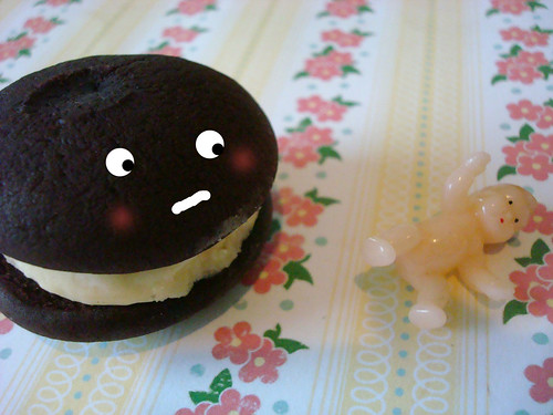 Whoopie pie and baby | by cakespy