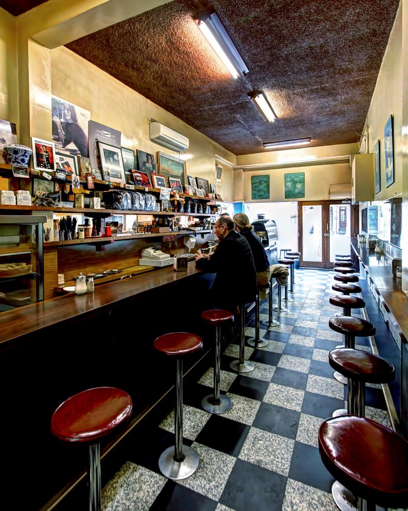 Mebourne S First Italian Espresso Bar Pellegrinis Melb