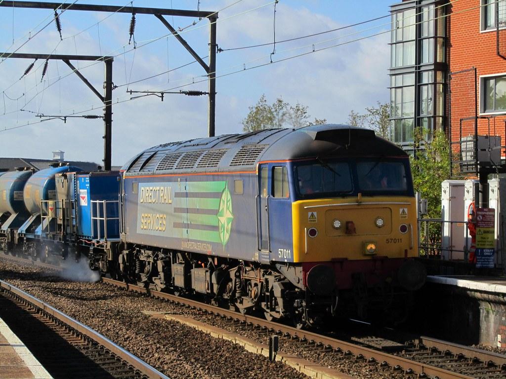 Class 57 57011 On Railhead Treatment Train General
