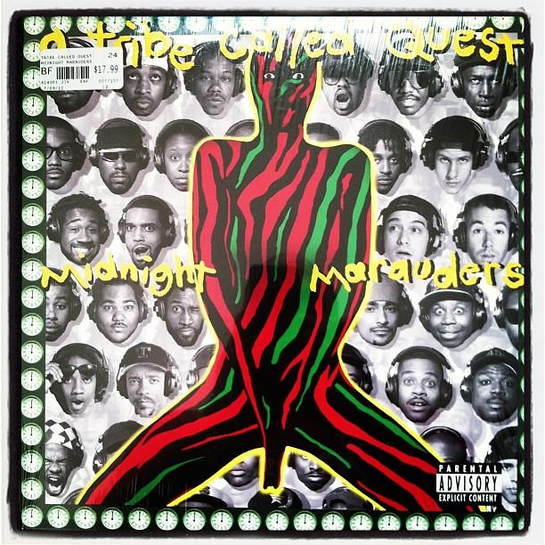Midnight marauders album cover