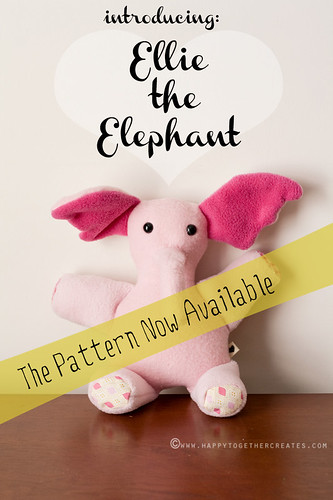 Ellie the Elephant Pattern Now Available | by ohsohappytogether