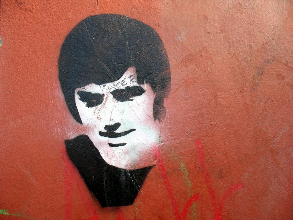 George Best Stencil
