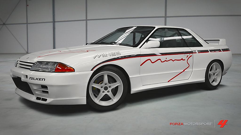Nissan Skyline Mine S R 32 Gt R Christophe Flickr
