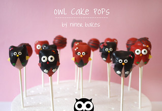 Cute Owl Cake Pops | by niner bakes
