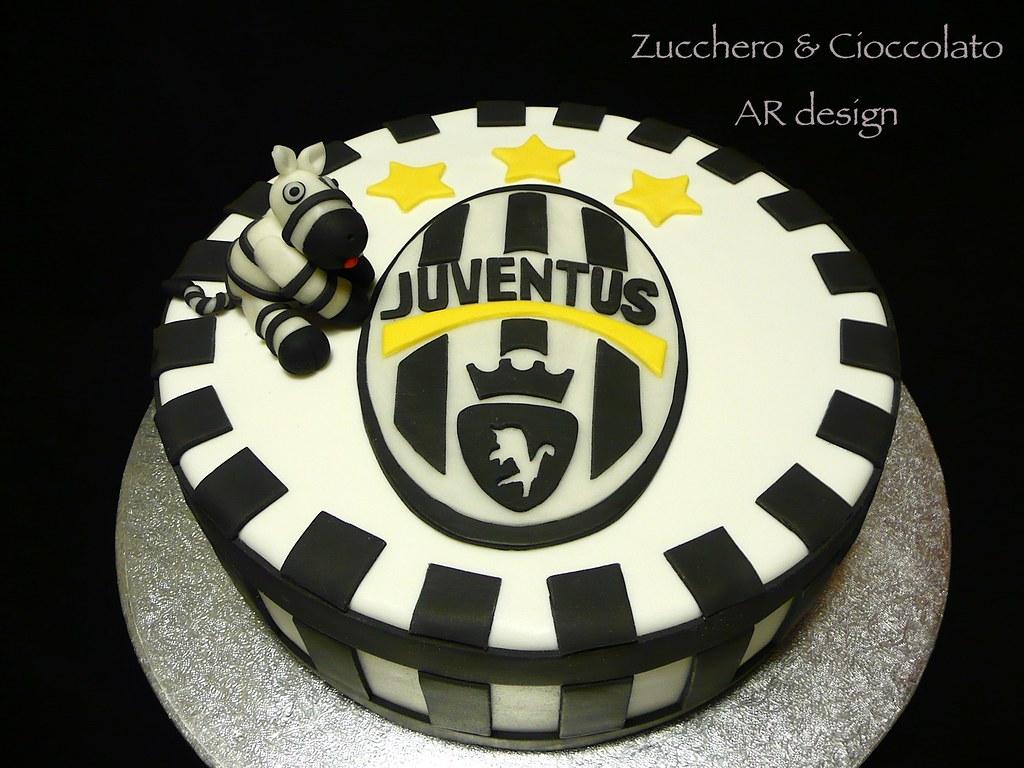 Torta Juventus Zucchero E Cioccolato Flickr