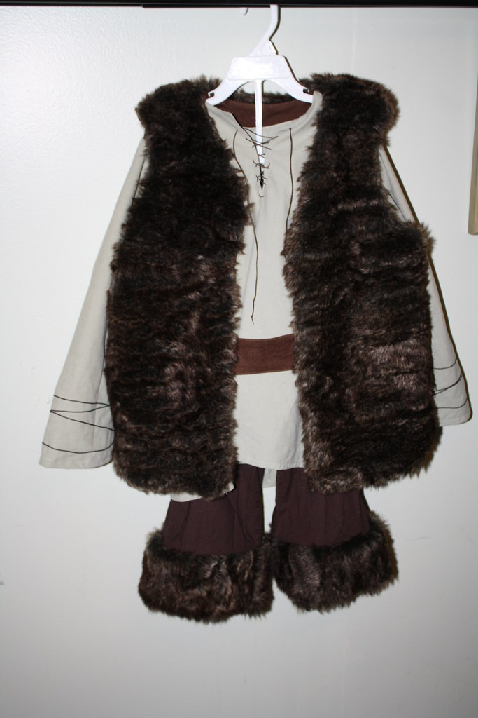hiccup the viking costume explorer vest done lovely fur