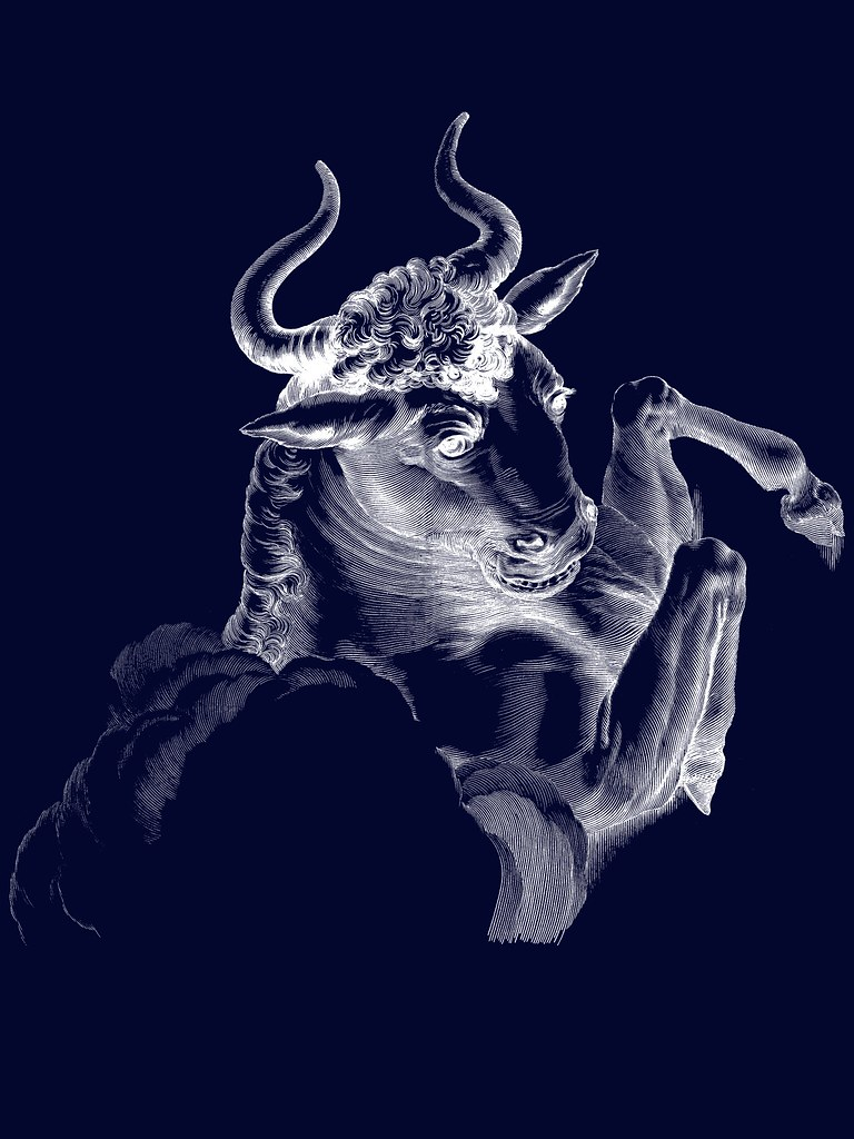 Taurus bull not car Wallpaper Mythological figure as a Flickr