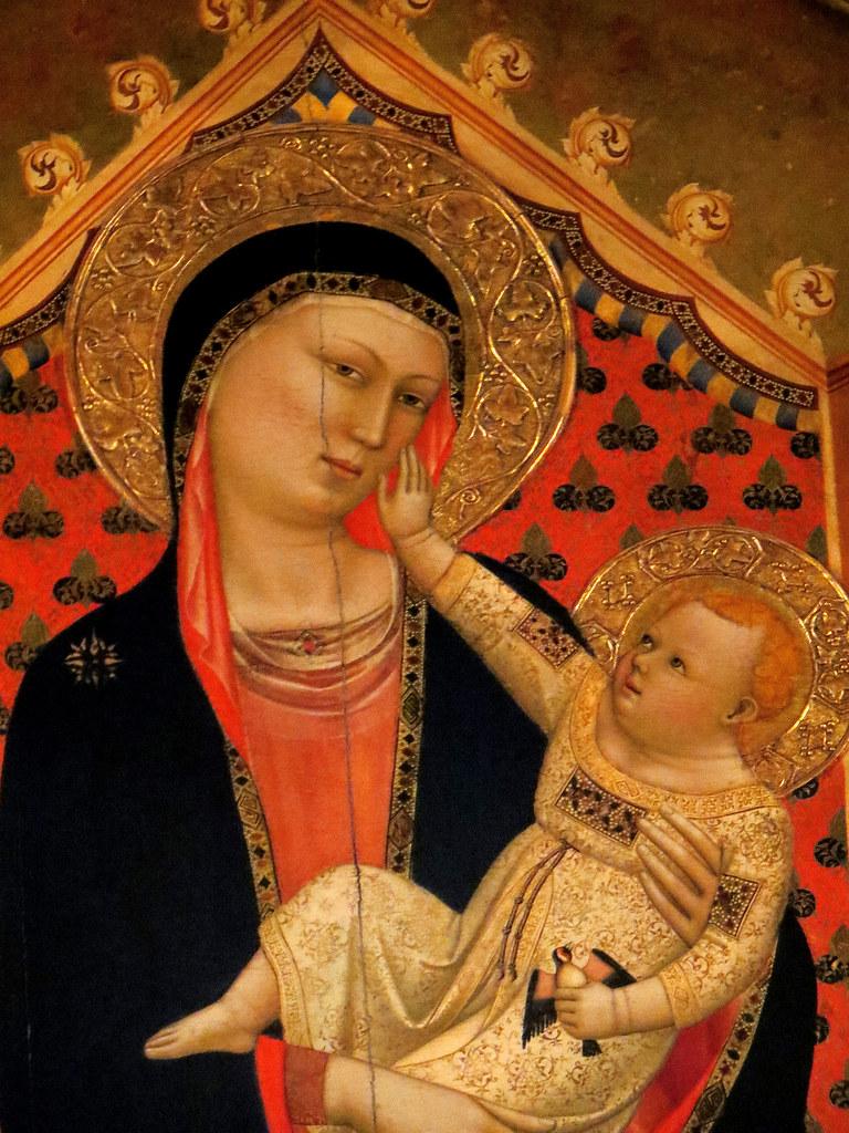 Madonna Delle Grazie Bernardo Daddi Orsanmichele Church F