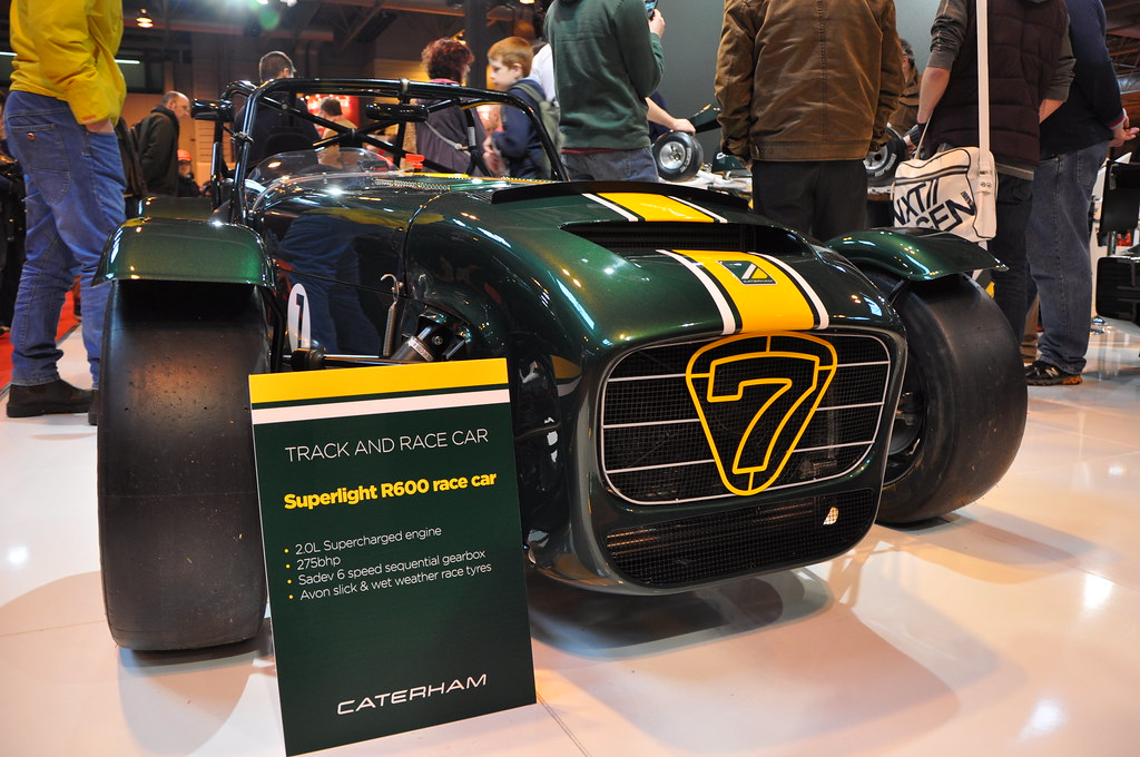 Caterham Superlight R600 Race Car Autosport International Flickr