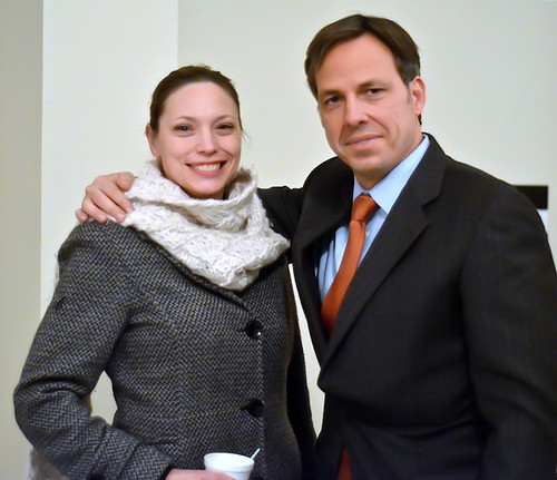 Tania meets Jake Tapper | by TaniaGail