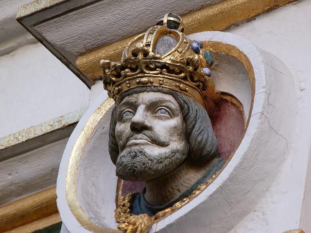 Efigie de Carlos V en Brujas (Flandes)