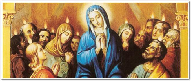 Cùng Đức Maria Trông Đợi Chúa Thánh Thần Trong Nhà Tiệc Ly