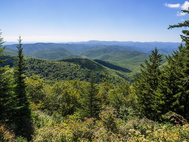 Wolf Mountain overlook