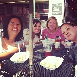 Lunch time with @sukie80 @kelbysews @freshlypieced @sewfantastic ! #sewingsummit | by Fresh Lemons : Faith