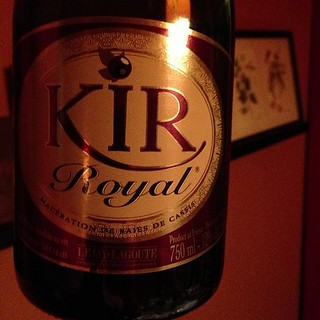 Kir Royale out of a bottle. It's actually good. | by yougrowgirl
