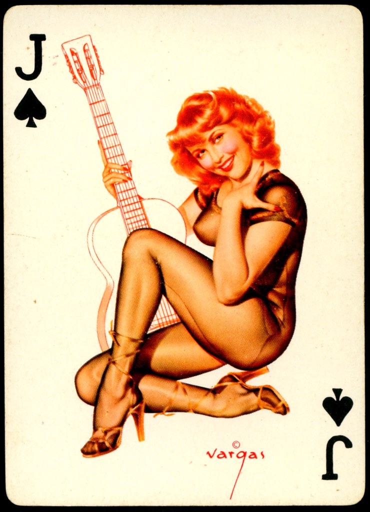 Opinion you Playing cards of naked girls