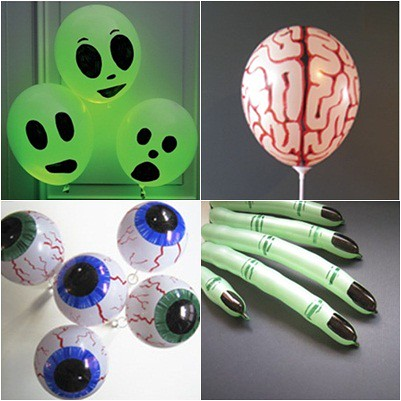 globos decorados para halloween | by shila_in