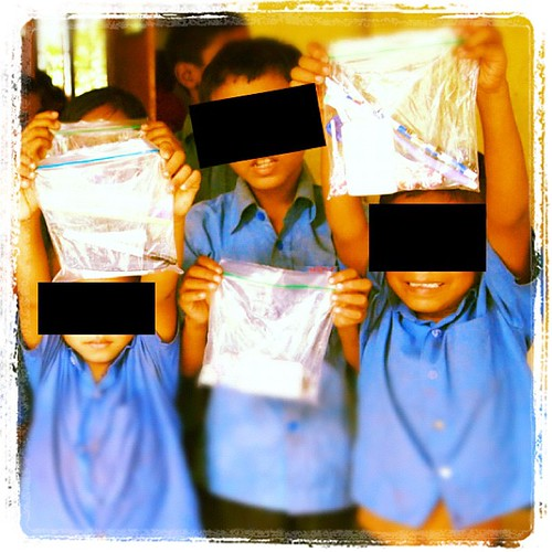 Kiddos are excited to receive special blessing bags from ICC donors. These kids are just a few of the 300 Bangladeshi Christian children who have been abducted by Islamists for jihad training. Eighty-one have been rescued. #Pray for the swift rescue of th | by plightofthepersecuted