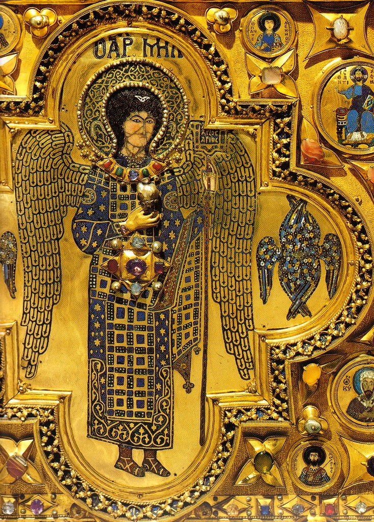 Venedig basilica di san marco pala d 39 oro erzengel mich for Pala de oro