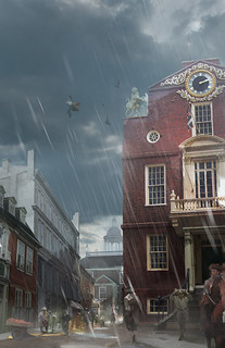 Assassin's Creed III: Old State House | by PlayStation.Blog
